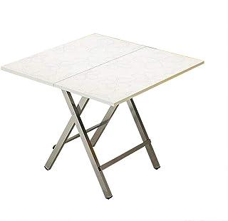 QZ HOME Table Pliante Petite Table À Manger Bois Massif en Plein Air Pratique Stockage Ménage Capacité De Charge De 200 Kg (Couleur : 1)