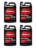 1 Case (4 Gallons) - Kawasaki Motorcycle / Scooter 4-Stroke Full Synthetic 20w50 Engine Oil