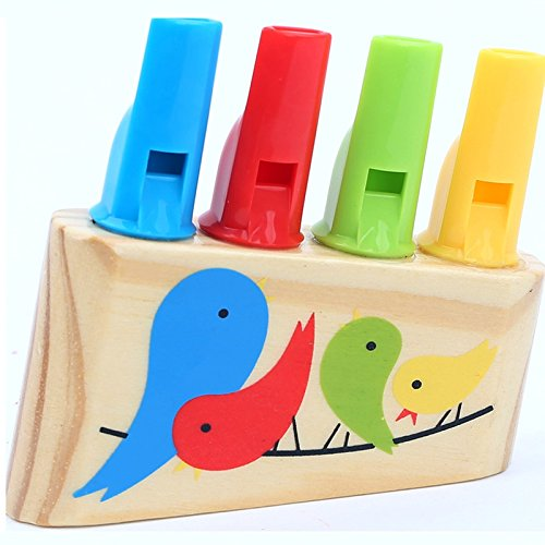 Bird Toy Parrot New Wood - Access-Toys02 Rainbow Panpipe Wooden Toy Birds Whistling Musical Eduactional Kids Gift