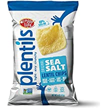 Enjoy Life Lentil Chips, Soy-free, Nut-free, Gluten-free, Dairy-free, Non-GMO, Vegan, Sea Salt, 4 Ounce Bag