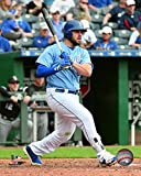 "Mike Moustakas Kansas City Royals 2018 MLB Action Photo (Size: 11"" x 14"")"