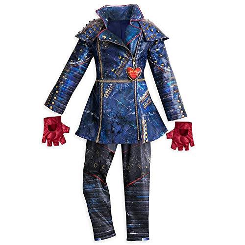 Disney Evie Costume for Kids - Descendants 2 Size 7/8 Multi