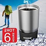 Kollea 18/8 Stainless Steel Tumbler Premium Quality Double Wall Vacuum Insulated Travel Mug Water Coffee Cup For Home, Office, School for Hot & Cold Drinks