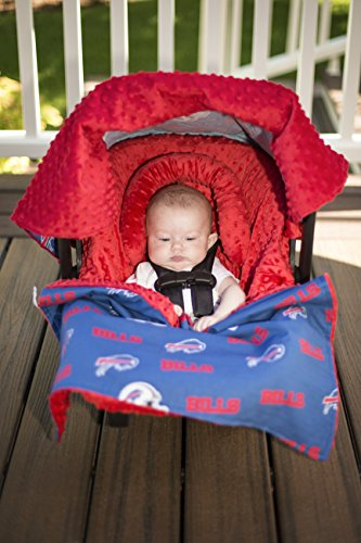 NFL Buffalo Bills The Whole Caboodle 5PC set - Baby Car Seat