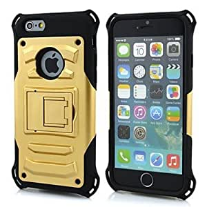 LCJ King kong Armor Protective Jacket with Stand for iPhone 6 (Assorted Colors) , White