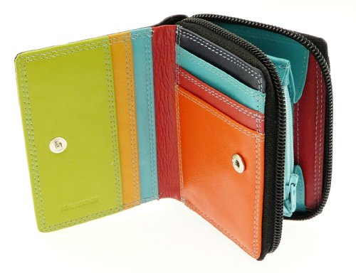 ladies-leather-credit-card-holder-wallet-zip-up-coin-purse-section