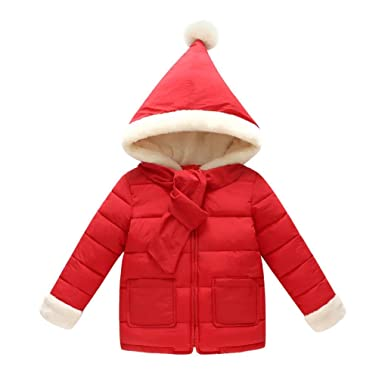 8abbf415f Quistal Baby Boys Girls Winter Parka Coat Hooded Down Snowsuit ...