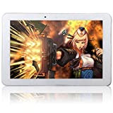 Phablet 10.1'' 10 Inch Android 4.4 KitKat Quad Core 2G 3G GSM WCDMA GPS Bluetooth Phone Tablet PC 2GB RAM 16GB ROM Dual 2 Sims Dual Camera Unlocked White/Black