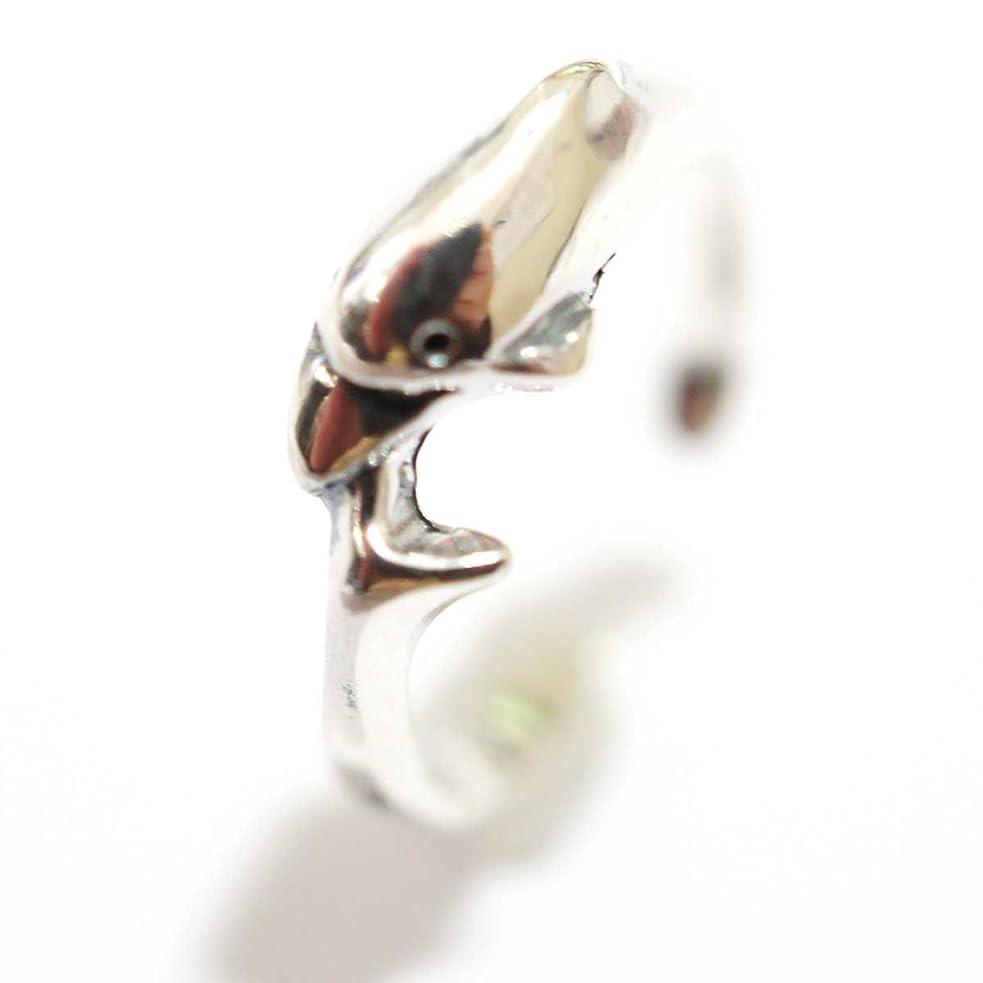 硫黄エチケット気絶させるトゥーリング ファランジリング 【K04-02】フリーサイズ 指輪 トゥリング クローバー