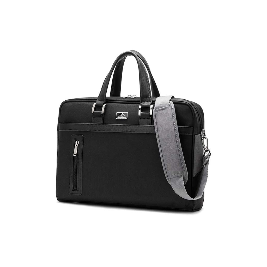 QSJY File Cabinets Laptop Bag 13.3/14/15.6 inch Waterproof Oxford Cloth Fashion Business Handbag Male 2 Colors Optionals (Color : B, Size : 40×31×12cm) by QSJY File Cabinets