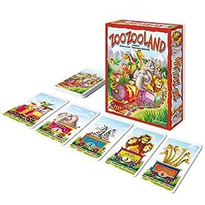 SentoSphere - ZooZooland, juego de cartas (075126)