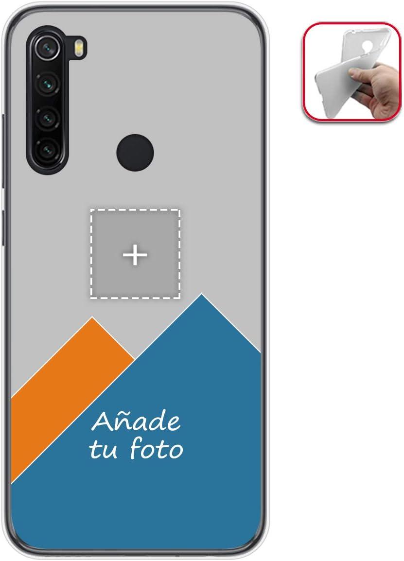 Personaliza tu Funda Gel Mate con tu Fotografia para Xiaomi Redmi Note 8T Dibujo Personalizada
