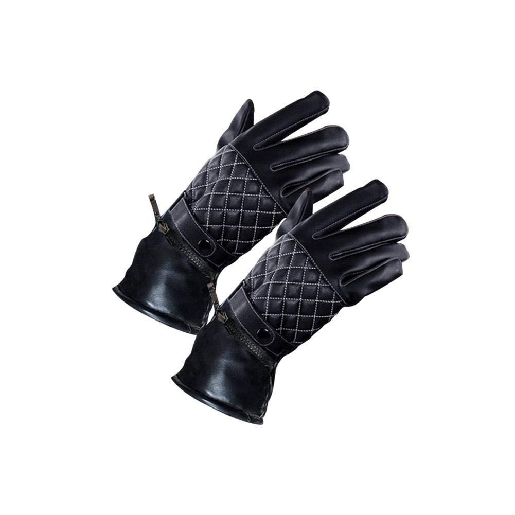 Handschuhe Beheizbar Verdickt Samt Innenfutter Heizbar fü r 3 bis 4 Stunden Idealer Begleiter fü r Winter Motorrad Fahrrad Oshidede