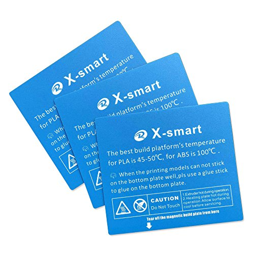 Adhesivo de plataforma para impresora 3D QIDI Techx-Smart 3 piezas ...
