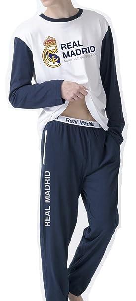 Pijama Real Madrid Hombre Manga Larga (L)