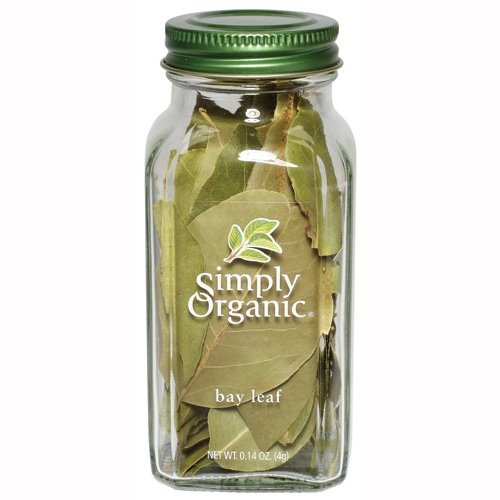 Simply Organic Bay Leaf Certified Organic, 0.14-Ounce Containers  (Pack of 3)