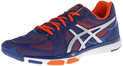 Asics Mens Gel Exert TR Training Shoe Dark Blue/Silver/Orange