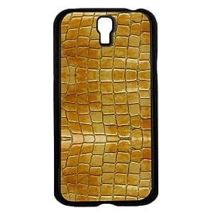 Yellow Albino Snake Skin Hard Snap on Case (Galaxy s4 IV) wangjiang maoyi