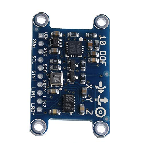 10DOF IMU Breakout L3GD20 LSM303 BMP180 Attitude Sensor 3 Axis Gyroscope Module