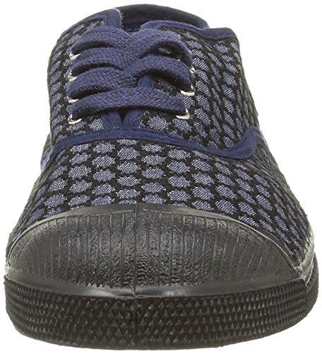 Bensimon Tennis Brode - Zapatillas de deporte Mujer Azul - Bleu(516 Marine)
