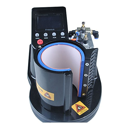 New Pneumatic Mug Heat Press Machine Ship out within 24 hours(Working Time: Monday to Friday)