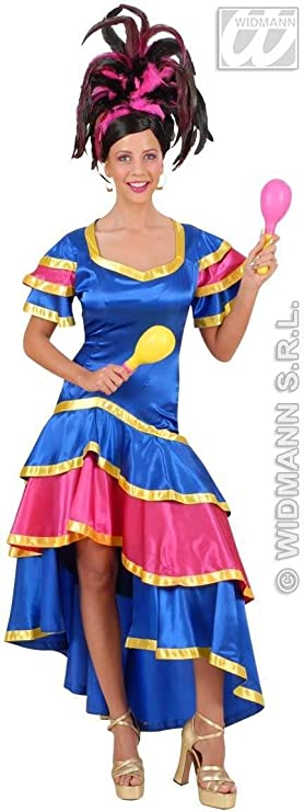 Disfraz de Bailarina de Samba Adulto Carnaval: Amazon.es: Juguetes ...