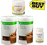 Herbalife Monthly Weight Loss Package: 2 Nos Formula 1 Vanilla + Personalized Protein Powder Ppp + Afresh Lemon