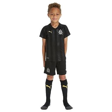 fe5f0159a Puma Newcastle United Third 2017 18 Football Mini Kit-3-4 Years ...