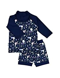 Jan & Jul UPF 50+ Long Sleeve Swim Shirts OR Sets for Baby, Toddler, Kids | Girls or Boys