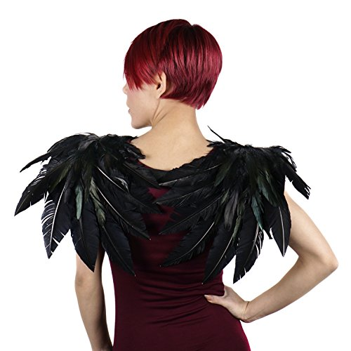 ZUCKER Adult Exotic Crow Costume Wing - -
