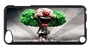 iPod Touch 5 Case, Nuclear Clown Bomb PC Case Cover Protector for iPod Touch 5 Hard Plastic Black