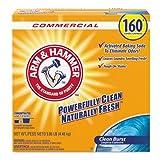 Arm & Hammer CDC 33200-06521 Powder Laundry Detergent, Clean Burst, 11.9 Lb, Box, 3/carton