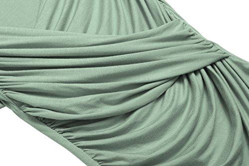 Green Camicia Zeagoo Camicia Army donna Zeagoo donna Army Green nTqpgxH