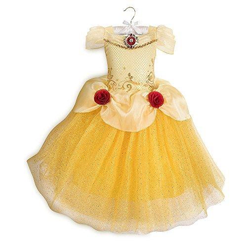 Disney Belle Costume for Kids Yellow (List Of Disney Halloween Movies)
