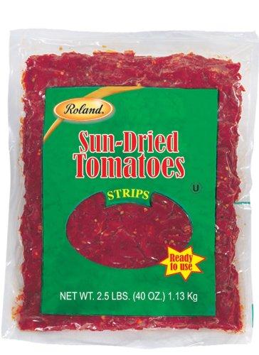 Roland Sun Dried Tomatoes Strips 2 5 Pound
