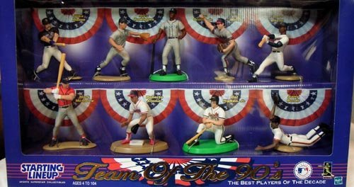 STARTING LINEUP TEAM OF THE 90'S ACTION FIGURES for sale  Delivered anywhere in USA