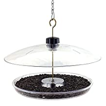 Droll Yankees CPF-M Covered Platform Feeder with Cover for Song Birds and Cardinals