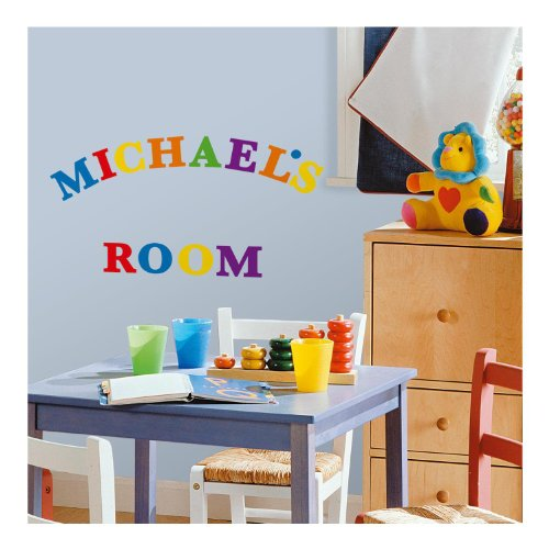 RoomMates-RMK1253SCS-Express-Yourself-Primary-Colors-Peel-Stick-Wall-Decals