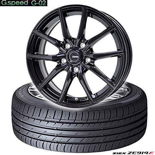 ファルケンZIEX ZE914F〈225/50R18 95W〉& G・Speed G-02〈18×7.5 +55 114.3 5H〉タイヤホイール4本セット