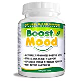 Boost Mood Natural Mood Support Dietary Supplement, 60 Vegetable Capsules For Sale