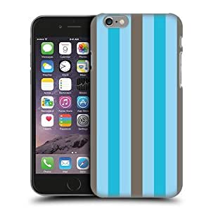Head Case Designs Choco Bubblegum Vertical Stripes Protective Snap-on Hard Back Case Cover for Apple iPhone 6 4.7