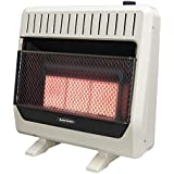 26,000-30,000 BTU Infrared Dual-Fuel Wall Heater with Blower
