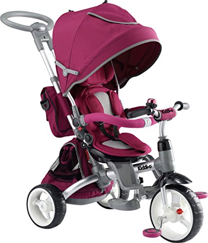 Kettler Tricycle Push Bar - Kettler 6-in-1 Ultimate Tricycle Ride On, Violet
