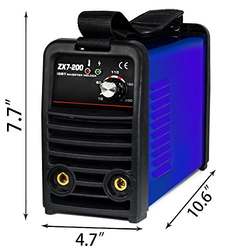 Tosense ZX7-200 220V 200A DC Inverter Portable Stick Welding Equipment For 3.2-4.0MM Rod 220V IGBT 220V MMA ARC Welding Machine