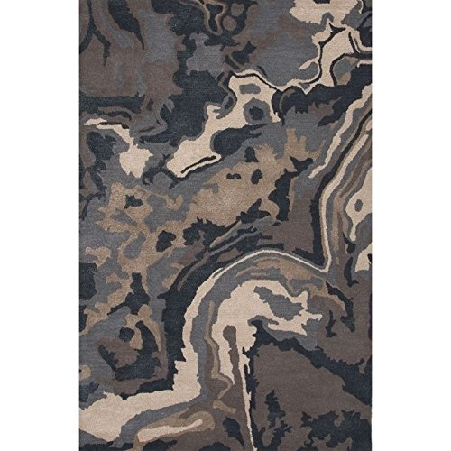 Jaipur Living Alabaster Hand-Tufted Abstract Blue Area Rug (5' X 8') ()