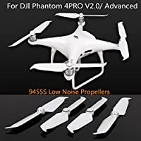 2Pairs 9455S Low Noise Propellers for DJI Phantom 4PRO V2.0/Advanced