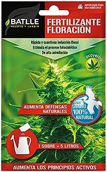 Abonos - Fertilizante Ecoyerba Floracion Sobre para 5L - Batlle