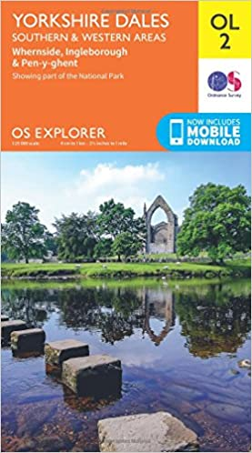 Os Explorer Ol2 Yorkshire Dales Southern Western Areas Os