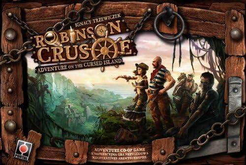 Robinson Crusoe Adventures on the Cursed Island Board Game by Z-Man Games: Amazon.es: Juguetes y juegos