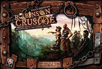 Robinson Crusoe Adventures on the Cursed Island Board Game by Z ...